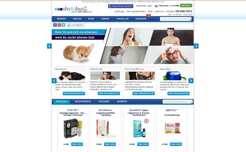Shytobuy Erfahrungen – Der Shop für Männergesundheit